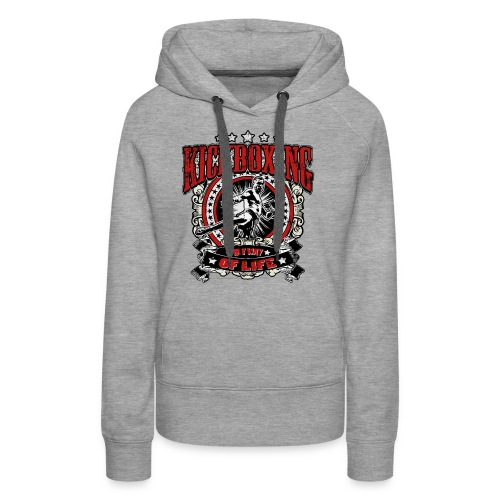 Kickboxing - My Way Of Life - Frauen Premium Hoodie