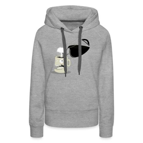 A mug's life - Sweat-shirt à capuche Premium pour femmes