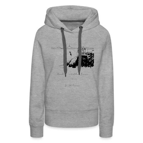 malmousque - Sweat-shirt à capuche Premium pour femmes