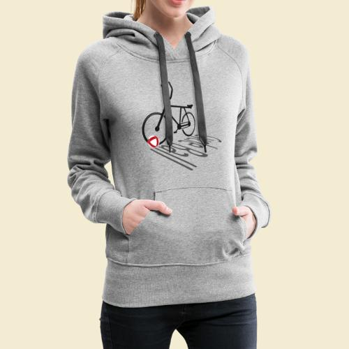 Radball | Cycleball Shadow - Frauen Premium Hoodie