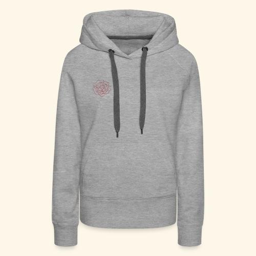 Fleur Vema - Sweat-shirt à capuche Premium pour femmes