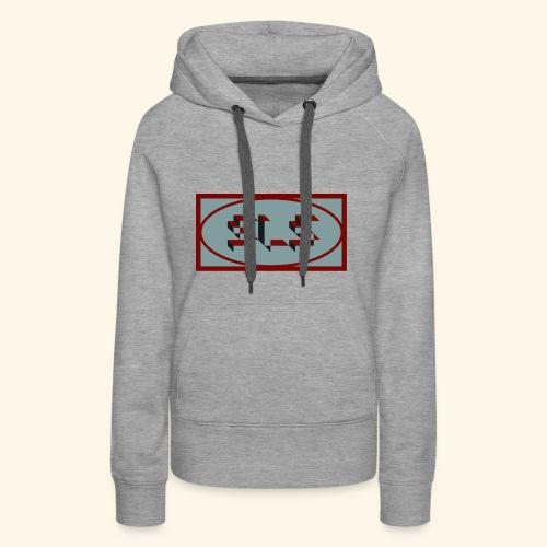 sls - Sweat-shirt à capuche Premium pour femmes