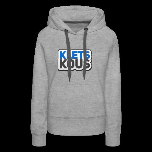 Kletskous - Vrouwen Premium hoodie