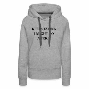 KEEPSTARING Nueva Std - Vrouwen Premium hoodie