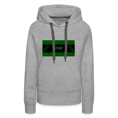 Green smoke medical Label logo 2 - Frauen Premium Hoodie