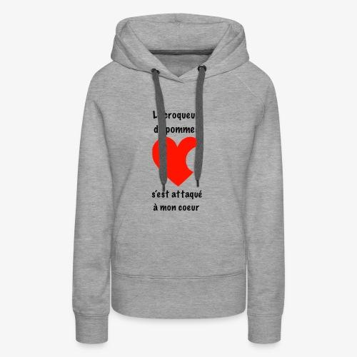 C48EABED 6E6B 4A9B BFC2 D8E0C7139779 - Sweat-shirt à capuche Premium pour femmes