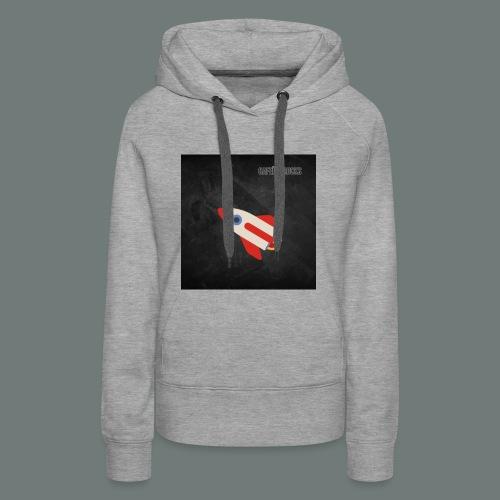 Cafeïne Rocks Rocket - Vrouwen Premium hoodie