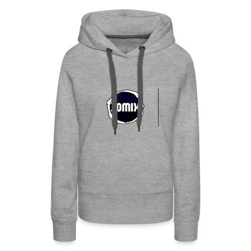 Zomix Official Logo - Sweat-shirt à capuche Premium pour femmes