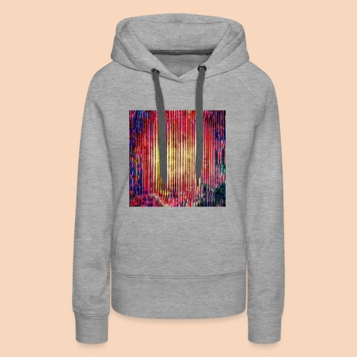 Abstraktes Kunst-Design 2714 by Todd Wichert - Frauen Premium Hoodie