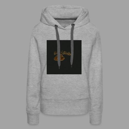 Günni Günter Design Black Background- - Frauen Premium Hoodie