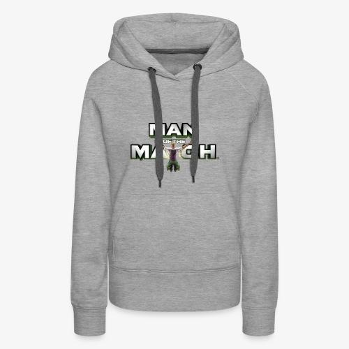MAN OF THE MATCH® - Women's Premium Hoodie