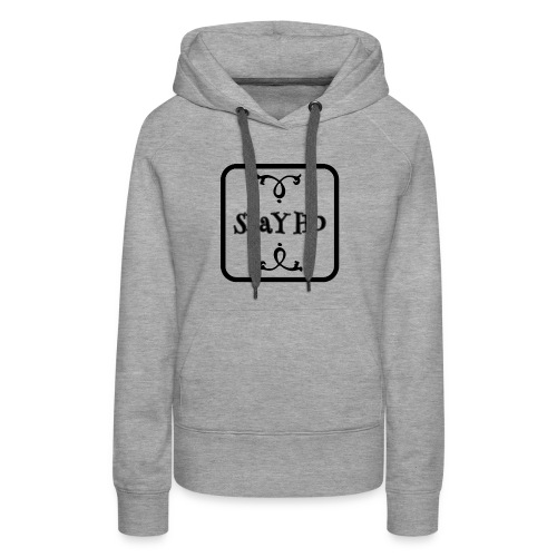 SLaYHD women merch logo - Women's Premium Hoodie