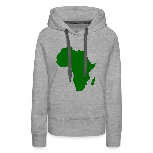 African styles green - Women's Premium Hoodie