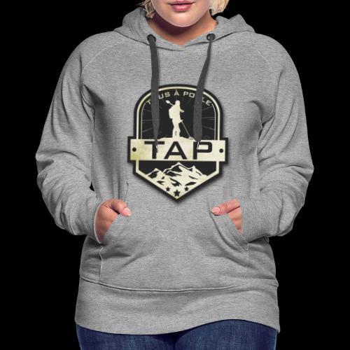 TAP Classique - Sweat-shirt à capuche Premium pour femmes