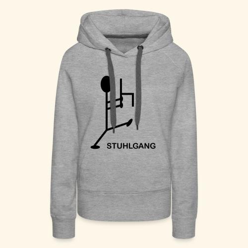 Stuhlgang - Frauen Premium Hoodie