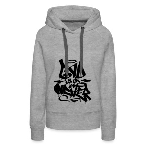 God is a Writer - Women's Premium Hoodie