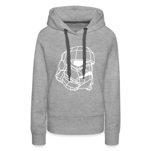 Male Stormtrooper Premium Geometrical sweater - Women's Premium Hoodie