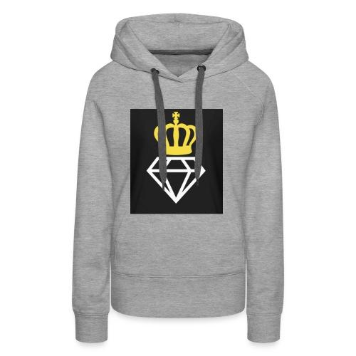 Diamantenkrone - Frauen Premium Hoodie