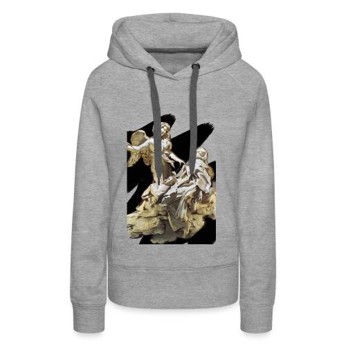 Éxtasis de Santa teresa - Sudadera con capucha premium para mujer