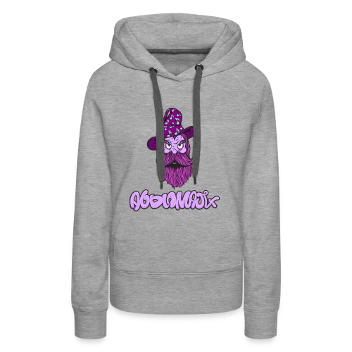 Wizard Woman Pink - Women's Premium Hoodie