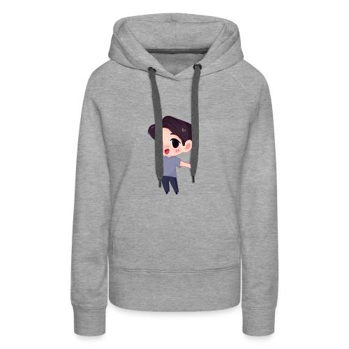 ChiBiToGen - Sweat-shirt à capuche Premium pour femmes