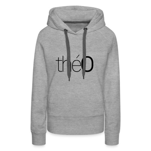 théO - Sweat-shirt à capuche Premium pour femmes
