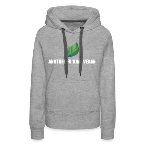 Vegan Lustig Style Lifestyle Umwelt Öko Tierschutz - Frauen Premium Hoodie