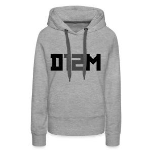 D12M: SHORT BLACK - Vrouwen Premium hoodie