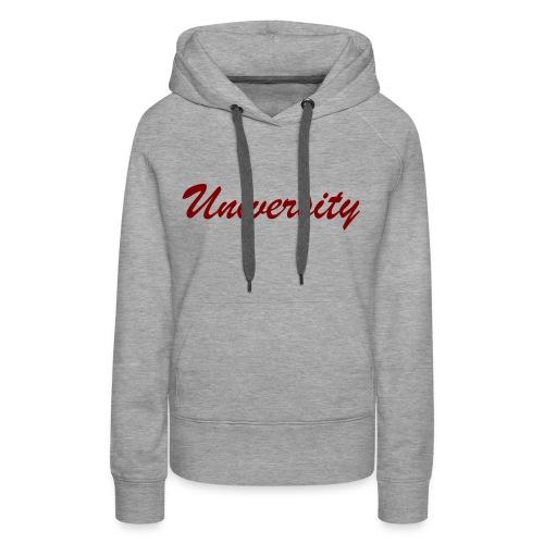 University - Frauen Premium Hoodie