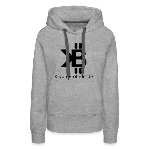 KryptoBrothers Black - Frauen Premium Hoodie