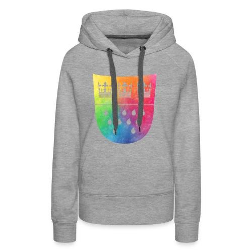 Kölner Wappen Rainbow - Frauen Premium Hoodie
