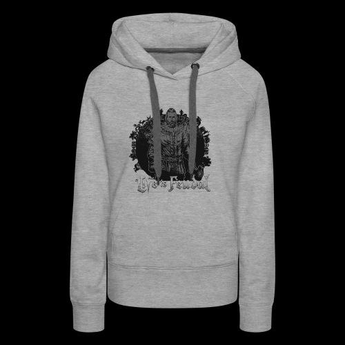 Life is Feudal SteamBadge 2 - Sweat-shirt à capuche Premium pour femmes
