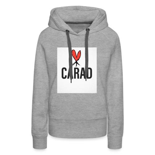 Logo und CARAD - Frauen Premium Hoodie