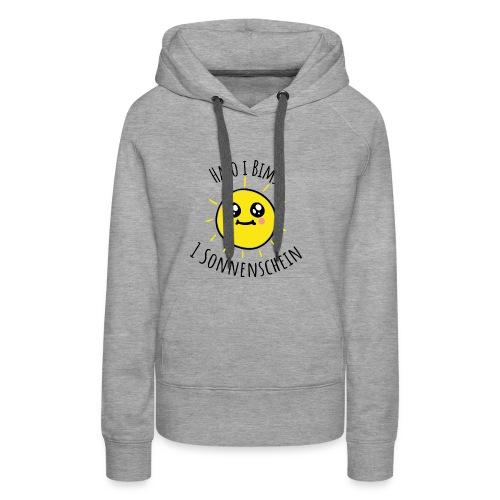 Halo i bims 1 Sonnenschein - Frauen Premium Hoodie