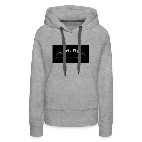 SkyHunter Logo Black - Frauen Premium Hoodie
