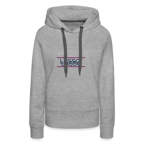 Lasso Logo transparent - Women's Premium Hoodie