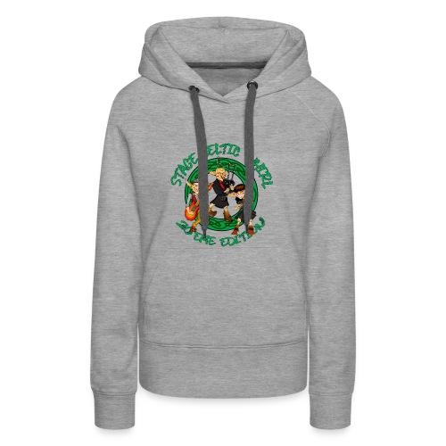 Celtic Whirl Stage - Sweat-shirt à capuche Premium pour femmes