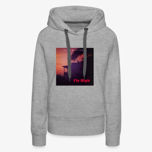 fly high cover 3000x3000 - Frauen Premium Hoodie