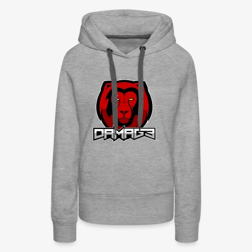 Damag3 Logo - Women's Premium Hoodie