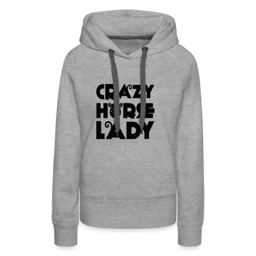 Crazy Horse Lady - Women's Premium Hoodie