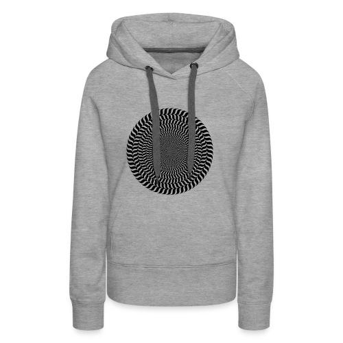 Optische Täuschung - Frauen Premium Hoodie