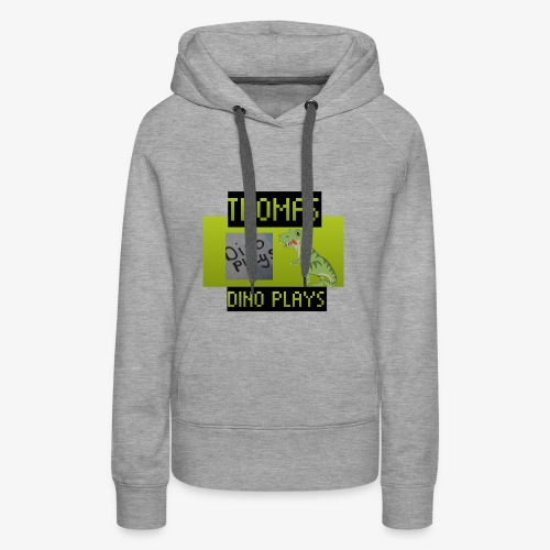 OFFICIAL DINO PLAYS MERCH - Women's Premium Hoodie
