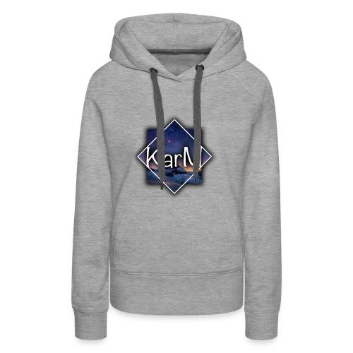 KarM Logo - Premium hettegenser for kvinner