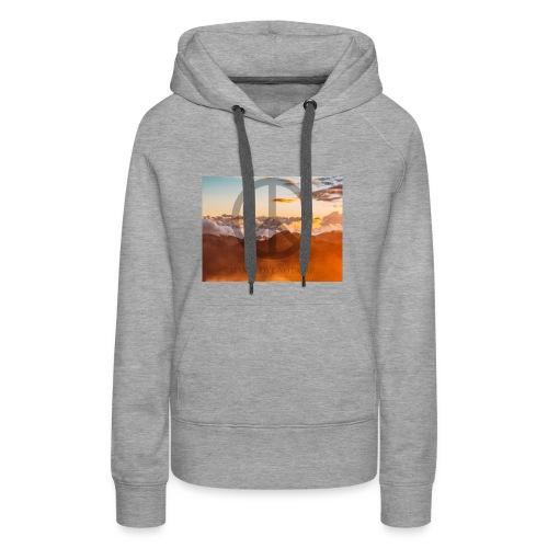 MAKE LOVE NOT WAR - Vrouwen Premium hoodie