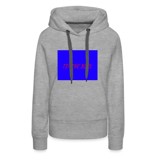 BLUE BOSSES - Women's Premium Hoodie