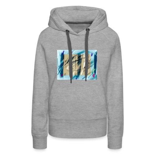 peinture - Sweat-shirt à capuche Premium pour femmes