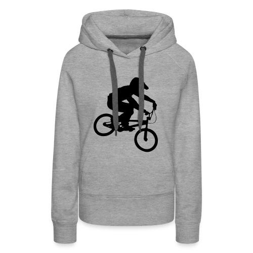 Bmx Rider One colour - Vrouwen Premium hoodie