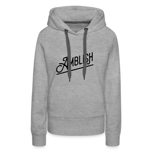 AMBLISH Logo BLACK - Frauen Premium Hoodie