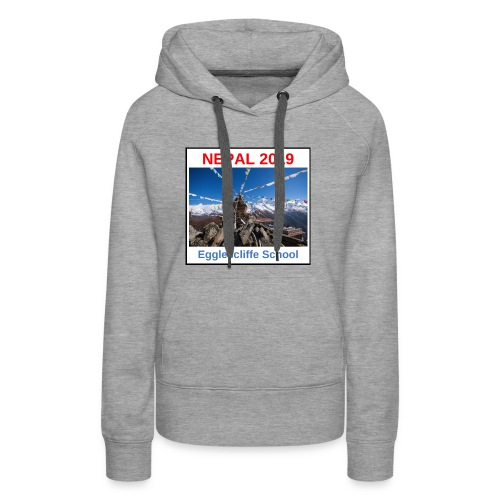Nepal Egglescliffe School T-shirt Version 1 - Women's Premium Hoodie