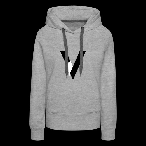 Veagles Créa - Sweat-shirt à capuche Premium pour femmes